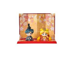 MEGAHOUSE PETIT CHARA SAILOR MOON USAGI&MAMORU SET MINI FIGURA