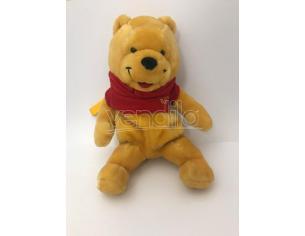 JEMINI – Peluche Winnie The Pooh con cerniera nella schiena e portachiavi 30cm