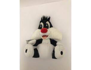 Peluche Baby Looney Tunes Silvestro con pannolino 30 cm Disney
