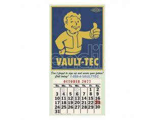 GAYA ENTERTAINMENT FALLOUT VAULT-TEC 2077 CALENDAR POSTER POSTER