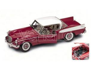 LUCKY DIE CAST LDC20018R STUDEBAKER GOLDEN HAWK 1958 RED 1:18 Modellino