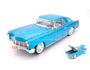 Hot Wheels LDC20078BL LINCOLN CONTINENTAL MARK II 1956 BLUE 1:18 Modellino