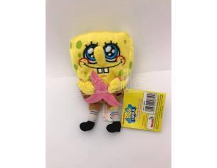 Nickelodeon - Spongebob con stella marina Peluche 16cm circa