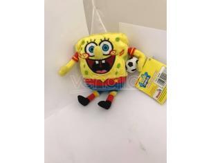Nickelodeon - Spongebob vestito da Calciatore Peluche 16cm circa