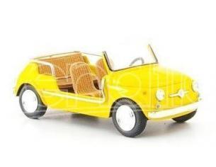 Spark Model 1497 FIAT 500 JOLLY YELLOW GIALLA 1/43 Modellino