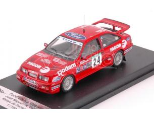 Trofeu TFRRAL77 FORD SIERRA RS COSWORTH N.24 RALLY OF PORTUGAL 1989 MIGUEL-CALDEIRA 1:43 Modellino