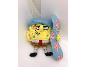 Nickelodeon - Spongebob vestito da Sciatore Peluche 16cm circa