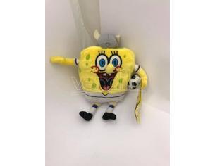 Nickelodeon - Spongebob vestito da Vichingo Calciatore Peluche 16cm circa