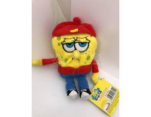 Nickelodeon - Spongebob vestito da Studente Peluche 16cm circa