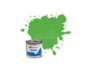 Humbrol HB0037 BRIGHT GREEN MATT 14 ml Pz.6 Modellino