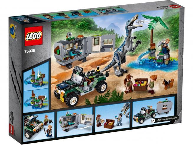 LEGO JURASSIC WORLD 75935 - FACCIA A FACCIA CON IL BARYONYX : CACCIA AL TESORO