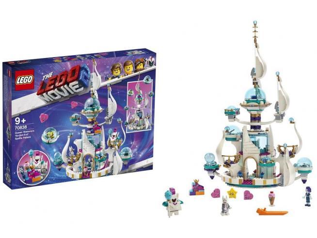 LEGO MOVIE 2 70838 REGINA WELLO KE WUOGLIO E IL PALAZZO SPAZIALE 'MEZZO MALVAGIO