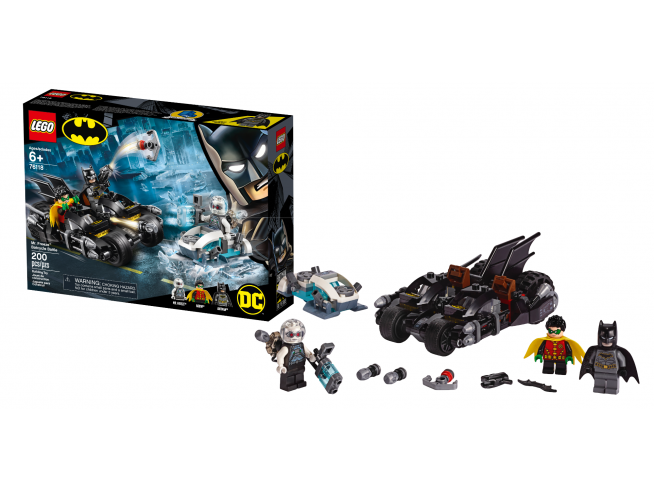 LEGO DC COMICS SUPER HEROES 76118 - BATTAGLIA SUL BAT-CICLO CON MR. FREEZE