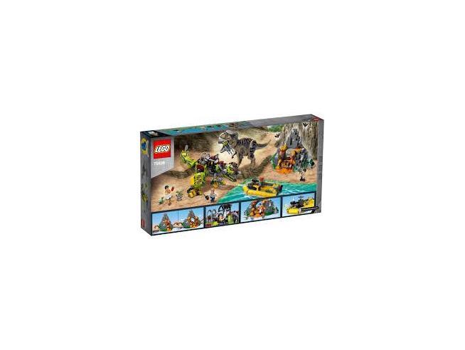 LEGO JURASSIC WORLD 75938 - BATTAGLIA TRA T. REX E DINO-MECH