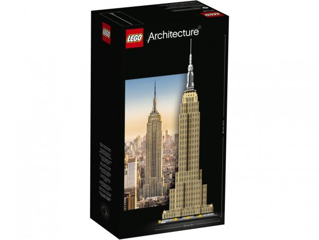 LEGO ARCHITECTURE 21046 SET COSTRUZIONI EMPIRE STATE BUILDING
