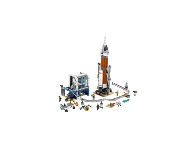 LEGO CITY SPACE PORT 60228 - RAZZO SPAZIALE E CENTRO DI CONTROLLO