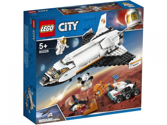 LEGO CITY SPACE PORT 60226 - SHUTTLE DI RICERCA SU MARTE