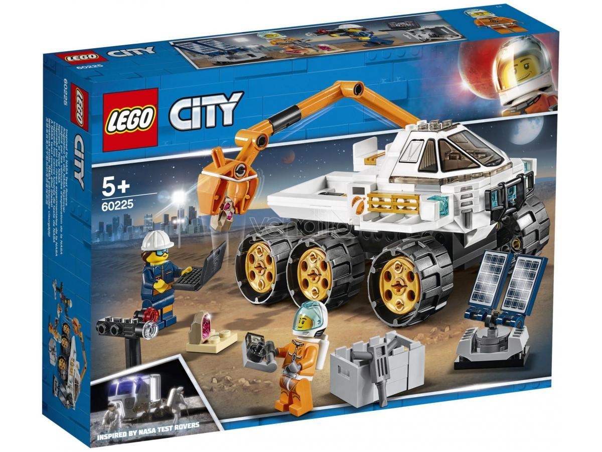 LEGO CITY SPACE PORT 60225 - PROVA DI GUIDA DEL ROVER