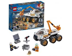 LEGO CITY SPACE PORT 60225 - PROVA DI GUIDA DEL ROVER
