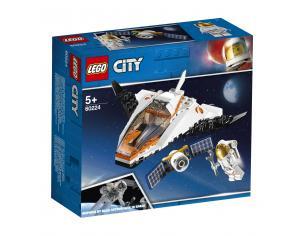 LEGO CITY SPACE PORT 60224 - MISSIONE DI RIPARAZIONE SATELLITARE