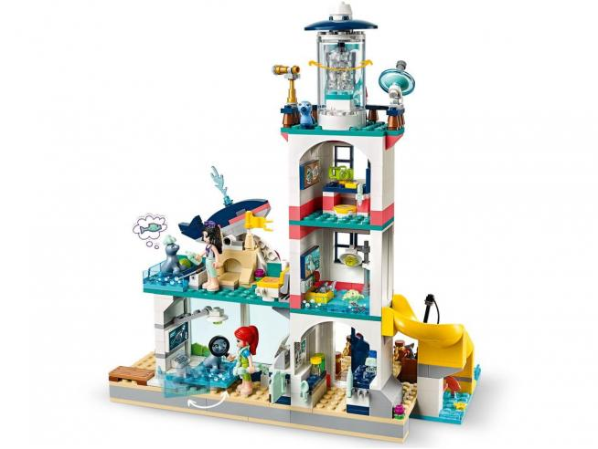 LEGO FRIENDS 41380 - IL FARO CENTRO DI SOCCORSO