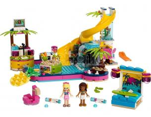 LEGO FRIENDS 41374 - LA FESTA IN PISCINA DI ANDREA
