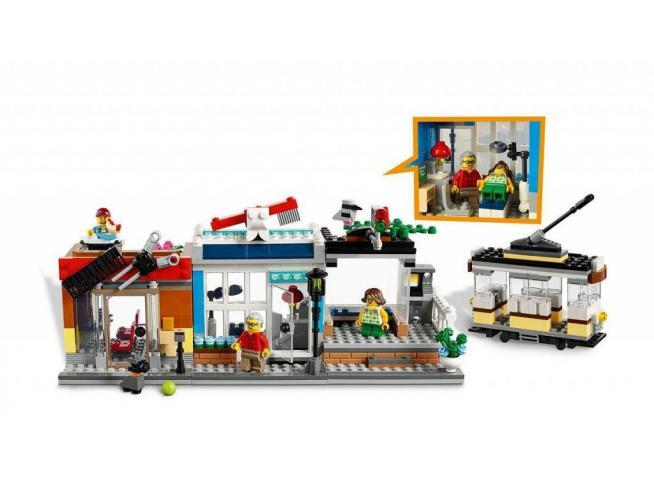 LEGO CREATOR 31097 - NEGOZIO DEGLI ANIMALI & CAFE'