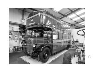 IXO MODEL BUS018 AEC REGENT RT RED LONDON TRANSPORT 1950 OPEN TOP 1:43 Modellino