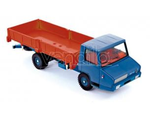 Norev Nvcl6921 Berliet Stradair Benne Basculante Laterale Arancione & Blue 1:43 Modellino