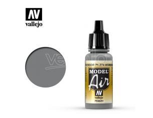 VALLEJO MODEL AIR AGGRESSOR GREY 71274 COLORI