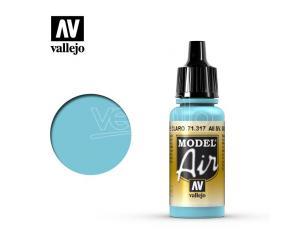 VALLEJO MODEL AIR ALL SV GOL LIGHT BLUE 71317 COLORI