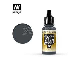 VALLEJO MODEL AIR AMT12 DARK GREY 71308 COLORI