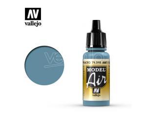 VALLEJO MODEL AIR AMT7 GREYSH BLUE 71318 COLORI