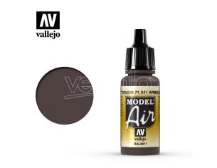 VALLEJO MODEL AIR ARMOUR BROWN 71041 COLORI
