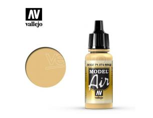VALLEJO MODEL AIR BEIGE 71074 COLORI