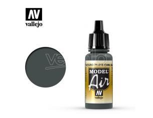 VALLEJO MODEL AIR BLACK GREEN 71018 COLORI