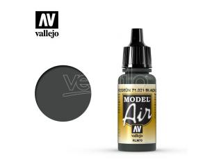 VALLEJO MODEL AIR BLACK GREEN RLM70 71021 COLORI