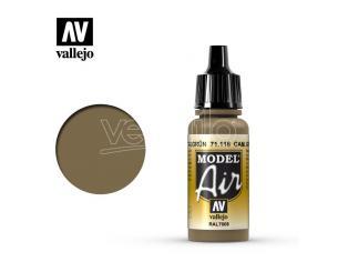 VALLEJO MODEL AIR CAM GRAY GREEN 71116 COLORI