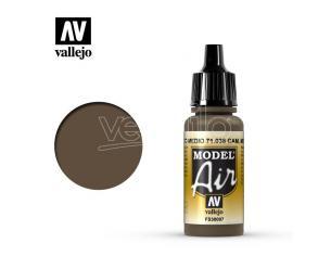 VALLEJO MODEL AIR CAMOUFLAGE MEDIUM BROWN 71038 COLORI