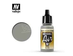 VALLEJO MODEL AIR CEMENT GREY 71045 COLORI