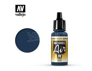 VALLEJO MODEL AIR DARK MEDITERRNEAN BLUE 71313 COLORI
