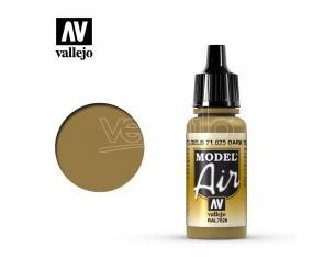 VALLEJO MODEL AIR DARK YELLOW 71025 COLORI