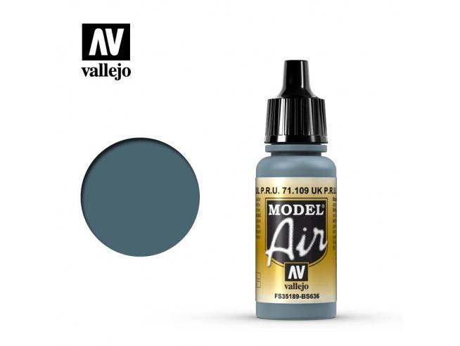 VALLEJO MODEL AIR FADED PRU BLUE 71109 COLORI