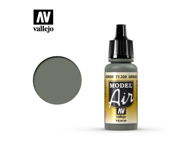 VALLEJO MODEL AIR GREEN 71329 COLORI