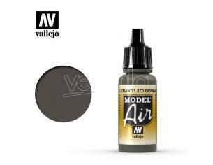 VALLEJO MODEL AIR GREEN BROWN 71020 COLORI