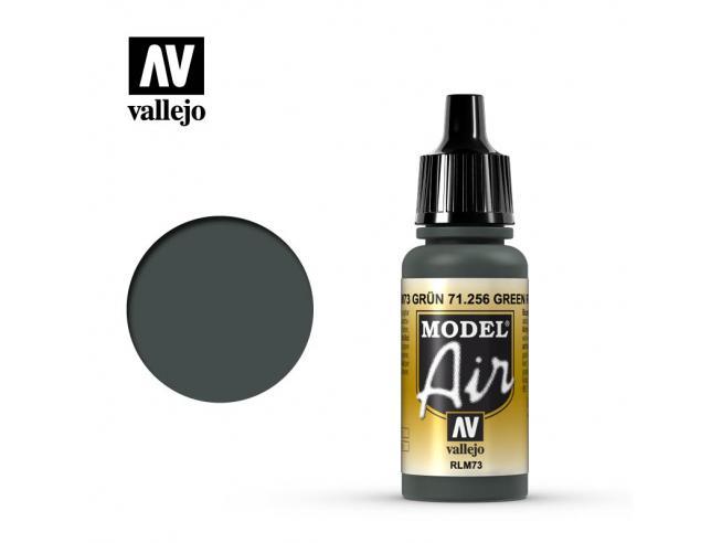 VALLEJO MODEL AIR GREEN RLM73 71256 COLORI