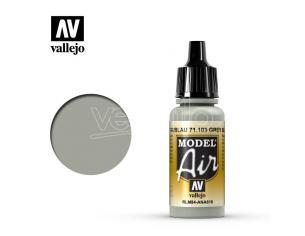 VALLEJO MODEL AIR GREY BLU RLM84 71103 COLORI