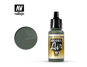 VALLEJO MODEL AIR GUNSHIP GREEN 71014 COLORI