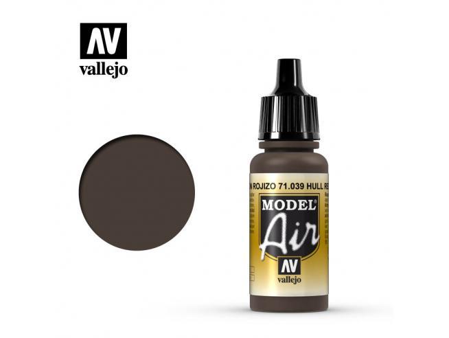 VALLEJO MODEL AIR HULL RED 71039 COLORI