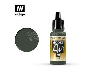VALLEJO MODEL AIR IJA BLACK GREEN 71322 COLORI